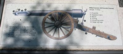 Close Up of Cannon Illustration image. Click for full size.