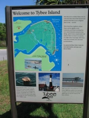 Welcome to Tybee Island image. Click for full size.