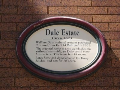 Dale Estate Marker image. Click for full size.