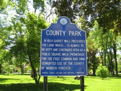 County Park Marker image. Click for full size.