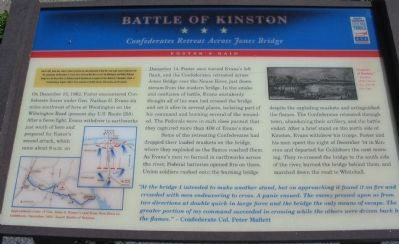 Battle of Kinston Marker image. Click for full size.