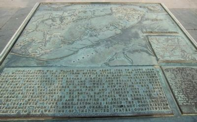Charleston Harbor Marker Panel 2 - Eighteenth Century image. Click for full size.