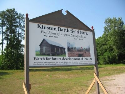 Kinston Battlefield Park image. Click for full size.
