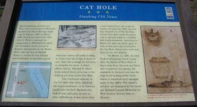 Cat Hole Marker image. Click for full size.