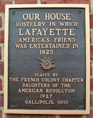 Our House Marker image. Click for full size.