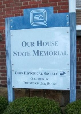 Our House State Memorial Marker image. Click for full size.