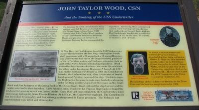 John Taylor Wood, CSN Marker image. Click for full size.