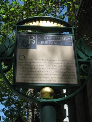 Bank of America Building Marker image. Click for full size.