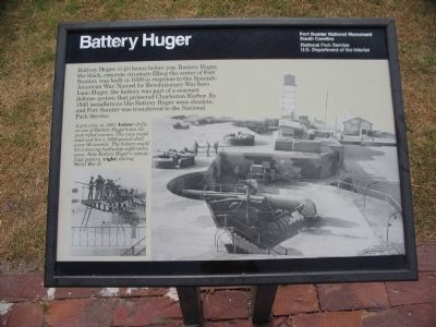 Battery Huger Marker image. Click for full size.