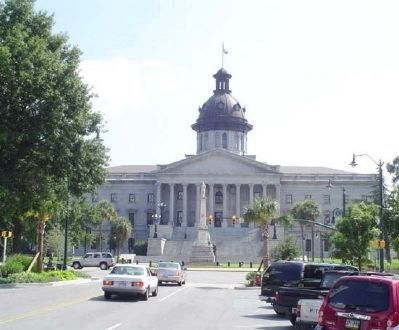 The State House of South Carolina North front view image. Click for full size.