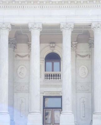 The State House of South Carolina Front Door, north entrance image. Click for full size.