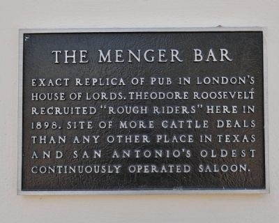 Menger Bar Marker image. Click for full size.