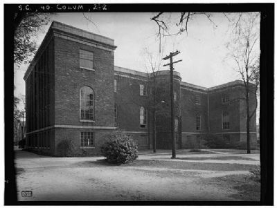 The South Caroliniana Library North elevation image. Click for full size.