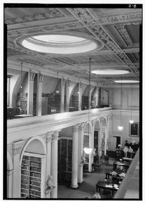 The South Caroliniana Library View from north gallery image. Click for full size.