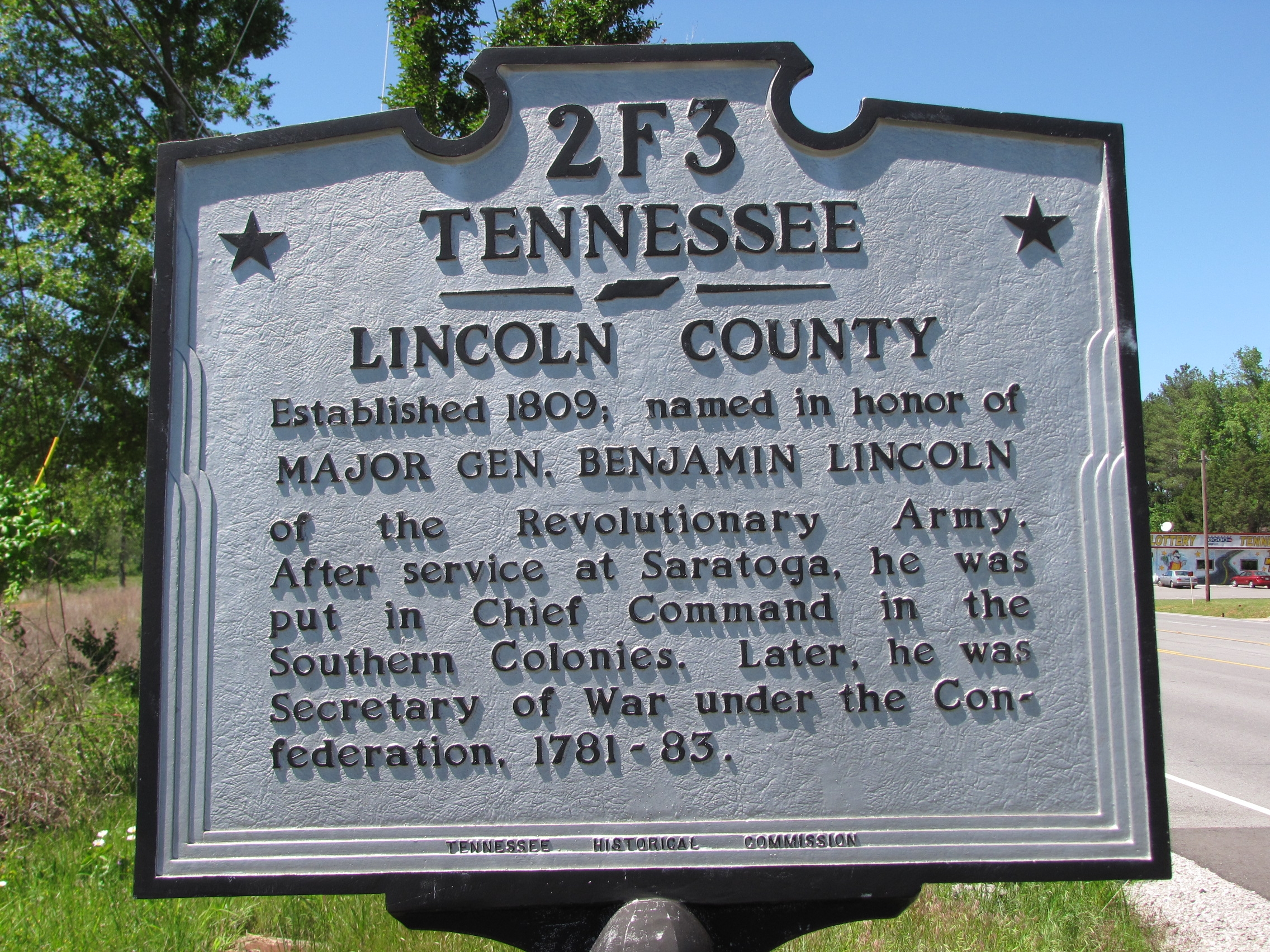 Tennessee / Alabama Marker