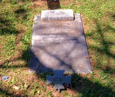 Grave of Gen. William Tatum Wofford image. Click for full size.