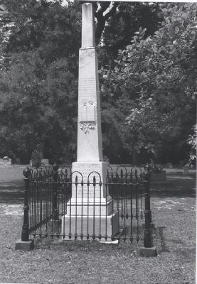 Monument to Rev. James Campbell image. Click for full size.