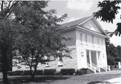 Old Bluff Presbyterian Church image. Click for full size.