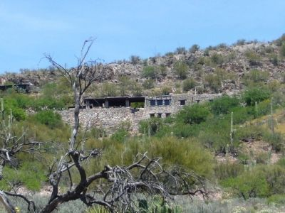 Colossal Cave Mountain Park Ramada and Headquaters Building image. Click for full size.