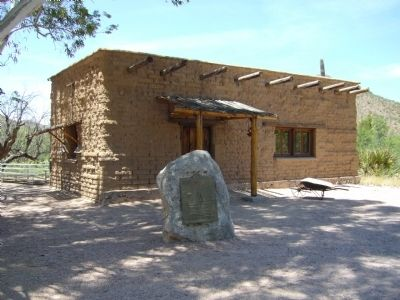 CCC Office Building at La Posta Quemada Ranch image. Click for full size.