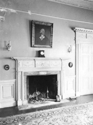 Marshlands House Mantle image. Click for full size.