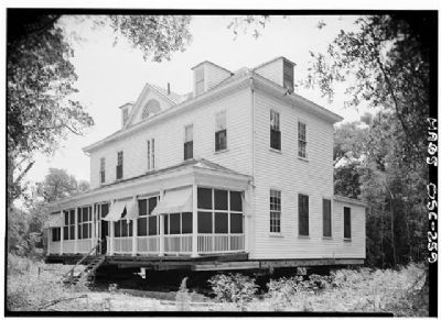 Marshlands House Front and west sides image. Click for full size.