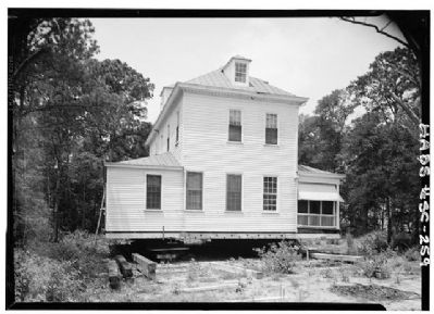 Marshlands House East side and rear view image. Click for full size.