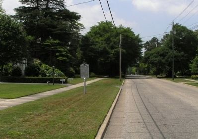 Wide view of the Lawrence Reese Marker image. Click for full size.
