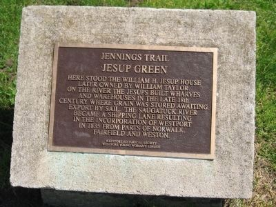 Jesup Green Marker image. Click for full size.