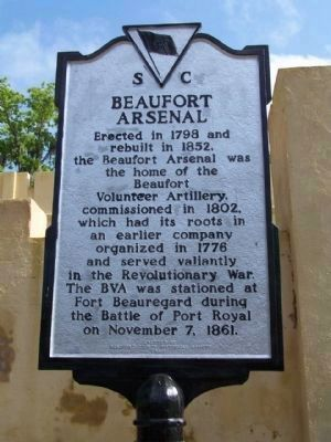 Beaufort Arsenal Marker, upgraded to present day Black on Silver paint scheme image. Click for full size.