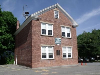 Old Schoolhouse and Firehouse Museum image. Click for full size.