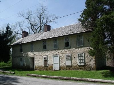 DePue Homestead on Old Mine Road image. Click for full size.