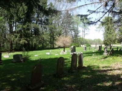 Historic cemetery on Old Mine Road, Sandyston Twp., NJ image. Click for full size.