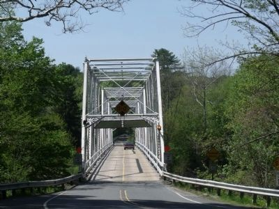 """Dingman's Bridge"" image. Click for full size."