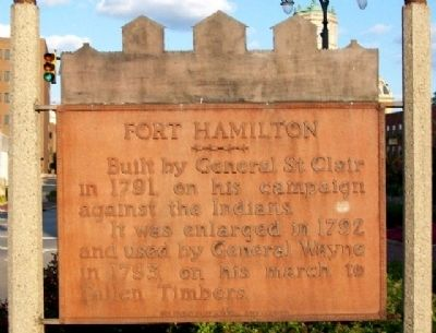 Fort Hamilton Marker image. Click for full size.