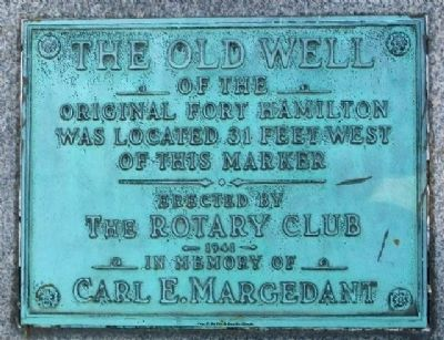 The Old Well Marker image. Click for full size.