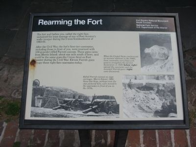 Rearming the Fort Marker image. Click for full size.