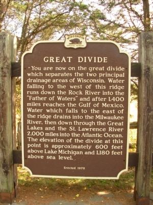 Great Divide Marker image. Click for full size.