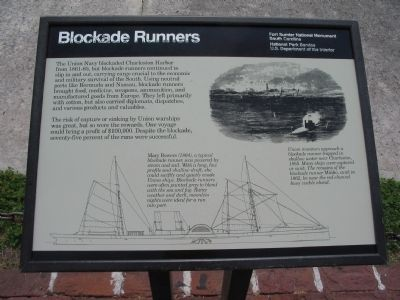 Blockade Runners Marker image. Click for full size.