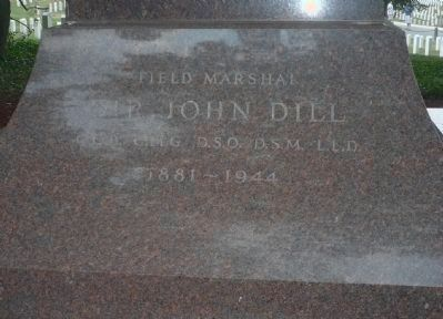 Field Marshal Sir John Dill Memorial image. Click for full size.