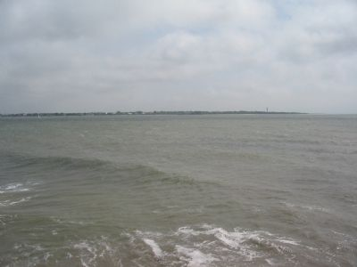 Sullivan's Island From Fort Sumter image. Click for full size.
