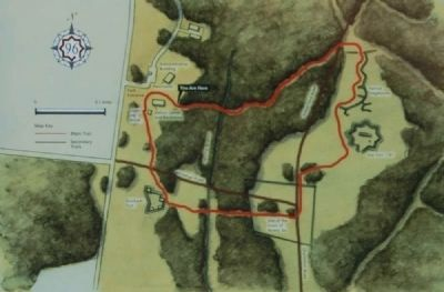 Ninety Six National Historic Site Walking Trails image. Click for full size.