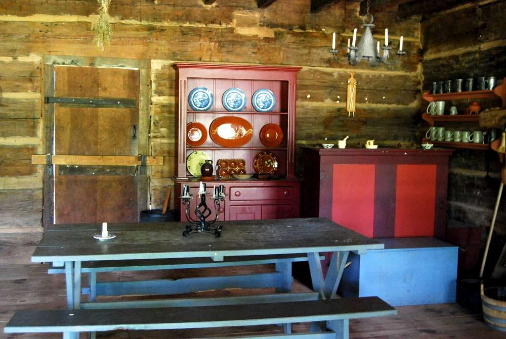 Logan Log House Interior