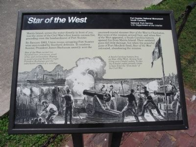 Star of the West Marker image. Click for full size.