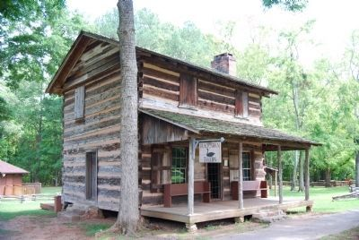 Logan Log House image. Click for full size.