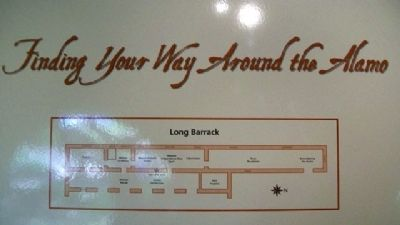Long Barrack Diagram on Marker image. Click for full size.