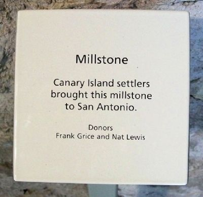 Mission Millstone Sign image. Click for full size.