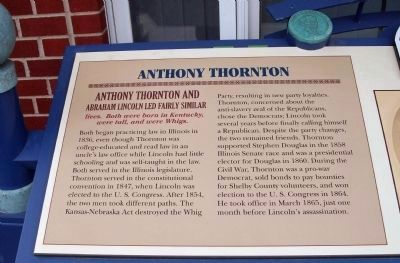Left Section - - Anthony Thornton Marker image. Click for full size.