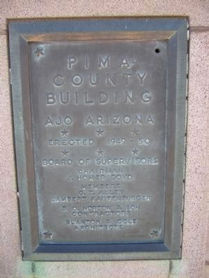 Pima County Building image. Click for full size.