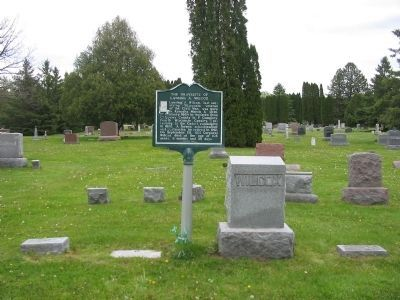 The Gravesite of Lansing A. Wilcox image. Click for full size.